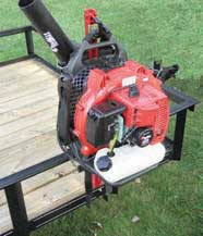 JUNGLE JIMS 1BH BLOWER HOLDER FOR ONE BLOWER