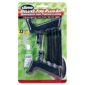 SLIME 2040-A Deluxe Tire Plug Kit