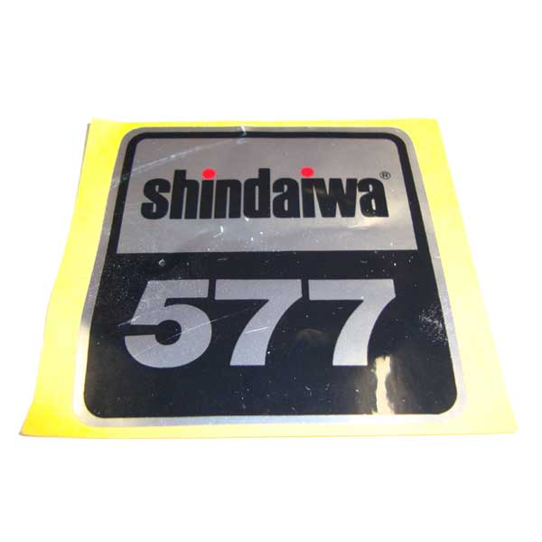 SHINDAIWA 22175-92180 NAME PLATE LABEL R