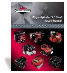 BRIGGS AND STRATTON 270962 REPAIR MANUAL SINGLE CYLINDER L-HEAD