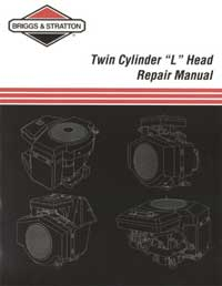 Briggs And Stratton 271172 Repair Manual Twin Cylinder L-Head
