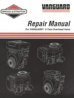 Briggs And Stratton 272144 Repair Manual V-Twin Ohv