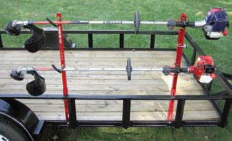 Jungle Jims 2TR Trimmer Rack For 2 Trimmers