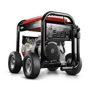 BRIGGS AND STRATTON 30335 4000 WATT PRO PORTABLE GENERATOR