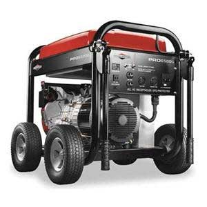 Briggs And Stratton 30454 Portable Electric Generator 6500 Watts