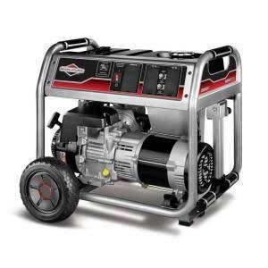 Briggs And Stratton 30467 Portable Electric Generator 5000 Watt