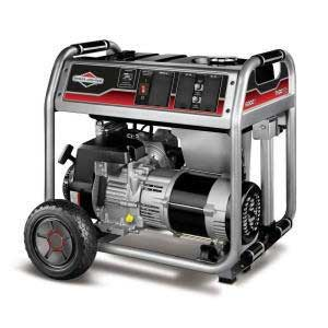 BRIGGS AND STRATTON 30469 ELECTRIC GENERATOR 6000 WATT