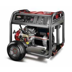 BRIGGS AND STRATTON 30471 GAS ELECTRIC GENERATOR 8000 WATT