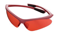 CHAMPION TRAPS AND TARGETS CHAMPIONTRAPS40605 SHOOTING GLASSES, PINK/ROSE