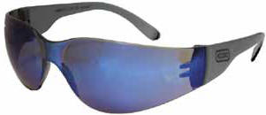 OREGON 42-139 PROTECTIVE EYEWEAR GRAY TEMPLE BLUE LENS