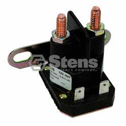 Stens 435-151 Starter Solenoid for Cub Cadet, John Deere and MTD