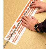 WOODLAND 45495 CHAIN MEASURING CHART