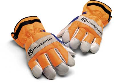 HUSQVARNA 505642209 CHAIN SAW PROTECTIVE GLOVE - MEDIUM