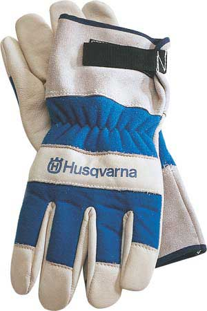 HUSQVARNA 531030767 HEAVY DUTY LEATHER WORK GLOVE