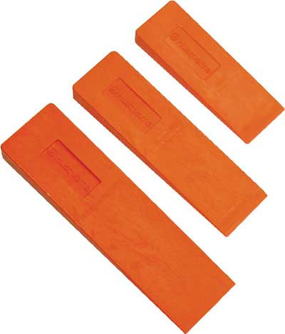 HUSQVARNA 608201001 10 INCH WOOD GRAIN FALLING WEDGE - ORANGE