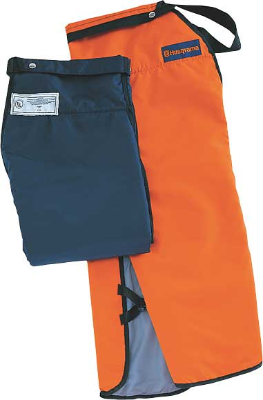 "HUSQVARNA 531309566 ORANGE APRON CHAPS (37""-38"" LENGTH)"
