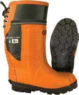 OREGON 535362-11 RUBBER FORESTRY BOOT - SIZE 11 - LUG SOLE