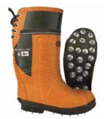 OREGON 535363-9 BOOTS, RUBBER TOP CAULKED SIZE 9