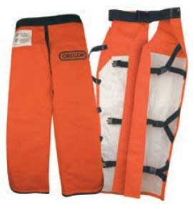 "OREGON 538465-32 APRON SAFETY CHAPS - 32"" LENGTH"