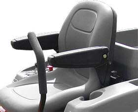 HUSQVARNA 539110469 Arm Rest Kit (high back seat)