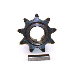 Dixon 539116885 9 Tooth Sprocket With Key, Replaces Dixon 8413
