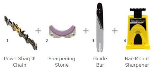 "OREGON 541223 18"" PowerSharp Starter Kit"