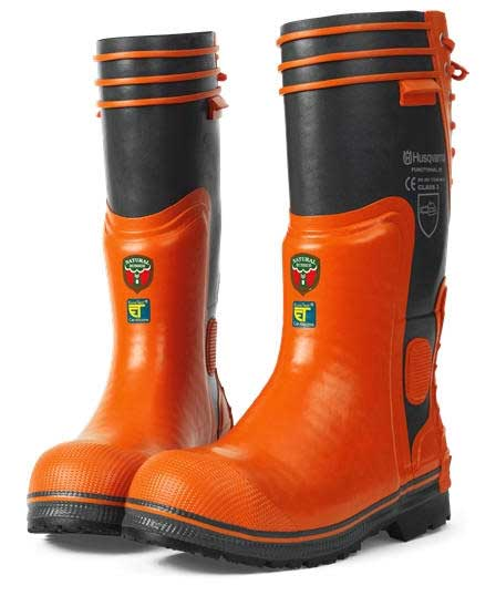 HUSQVARNA 573955941 PROTECTIVE BOOTS US 8.5, Euro 41, Small Liner