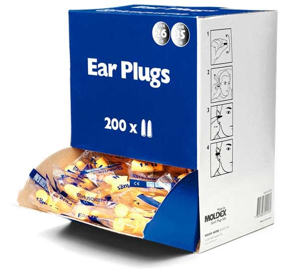 HUSQVARNA 574316201 EAR PLUGS BOX OF 200 PAIRS