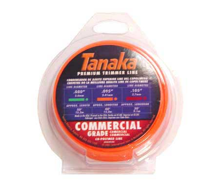 "TANAKA 746556 ORANGE TRIMMER LINE, .095"", 40 FT COIL"