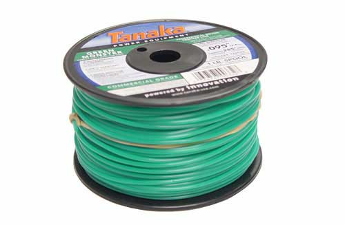 "Tanaka 746590 Green Monster Trimmer Line, .095"", 1 Lb Spool"
