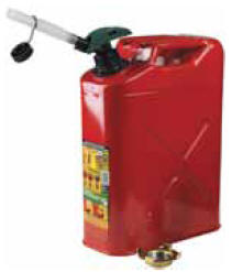 Oregon 81733B 5 Gallon Carb compliant Metal Jerry Can