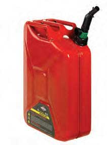 BRIGGS AND STRATTON 85043 5 Gallon Fuel Can with Auto Shut-Off (w/Spout), CARB METAL