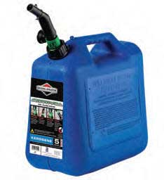 BRIGGS AND STRATTON W1008 5 GALLON KEROSENE AUTO SHUT-OFF FUEL CAN