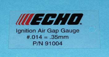 Echo 91004 Ignition Air Gap Gauge