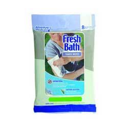 Adventure Medical Adventure Medical0170-0302 Fresh Bath Wipes Travel Size