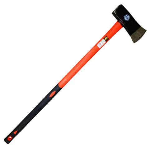 "AEI AEISM1878 8 LB SPLITTING MAUL WITH NON-SLIP 36"" FIBERGLASS HANDLE"