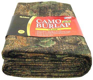 ALLEN CASES ALLEN2566 OAKBRUSH GREEN CAMO BURLAP
