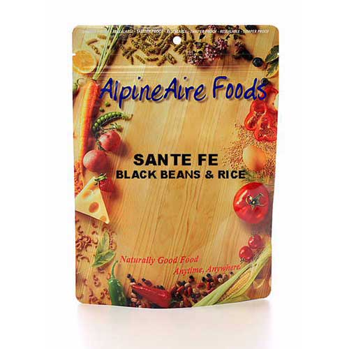 Alpine Aire Foods Alpine Aire Foods10112 SantaFeBlkBeans&Rice Serves2