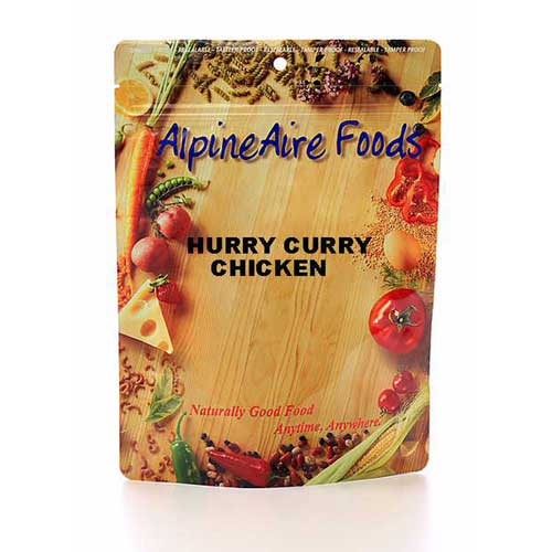 Alpine Aire Foods Alpine Aire Foods10311 Hurry Curry Chicken Serves2