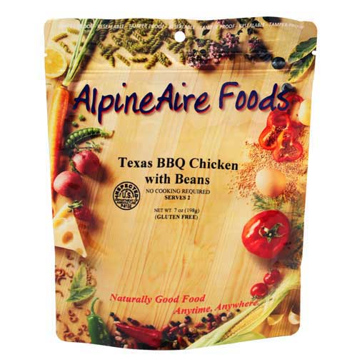 Alpine Aire Foods Alpine Aire Foods10406 TexasBBQ Chicken w/Beans Serves2