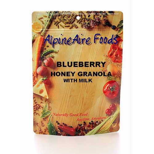 Alpine Aire Foods Alpine Aire Foods10807 BluebrryHonyGrnola w/Milk Serves2