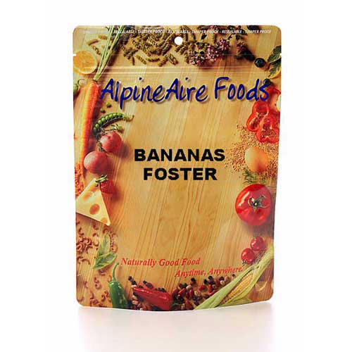 Alpine Aire Foods Alpine Aire Foods10912 Bananas Foster Serves2