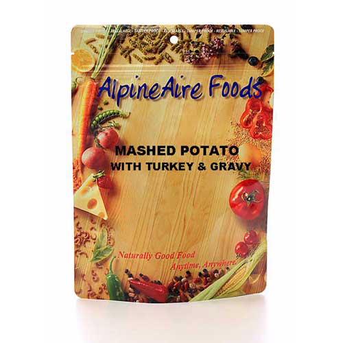 Alpine Aire Foods Alpine Aire Foods11402 MashdPotatos&Grvy w/Trkey Serves2