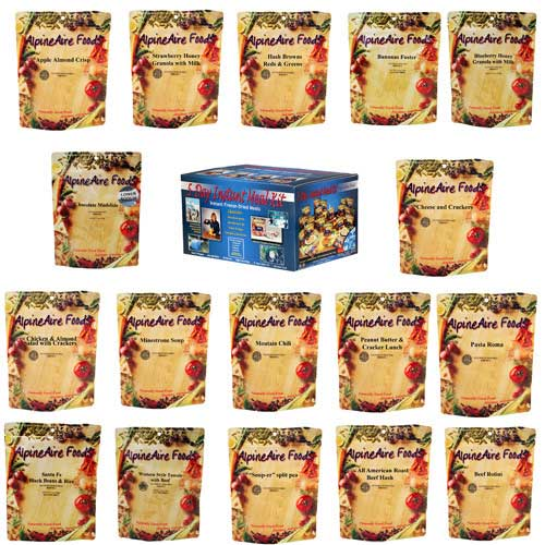 Alpine Aire Foods Alpine Aire Foods86512 5 Day Meal Kit (17 Pouches)