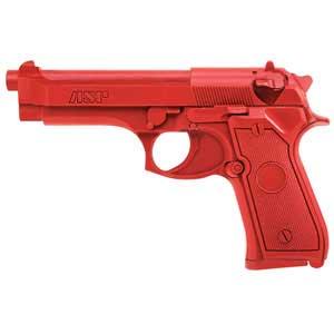 ASP ASP07301 RED TRAINING GUN BERETTA  9MM/40