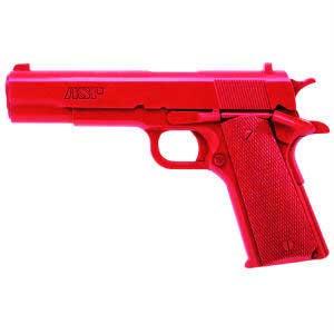 ASP ASP07308 RED TRAINING GUN GOVT. .45