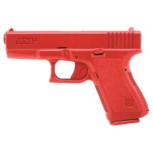 ASP ASP07311 RED TRAINING GUN GLOCK 9MM/40 CP