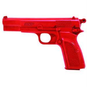 ASP ASP07314 RED TRAINING GUN BRNG.HI-POWER