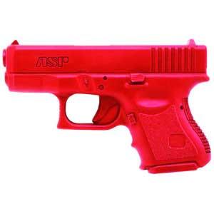 ASP ASP07319 RED TRAINING GUN GLOCK 9MM/40 SUB