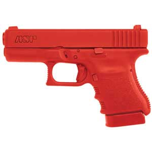 ASP ASP07322 RED TRAINING GUN GLOCK 10/45 SUB